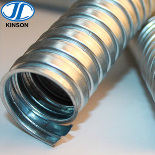 galvanized flexible corrugated electrical conduit pipes for wire protection