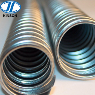 electrical gi flexible corrugated conduit for wire protection