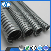 Hot dipper galvanized flexible steel conduit