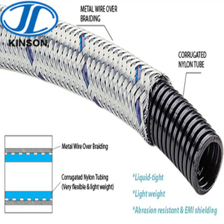 Explosion proof nylon flexible pipe