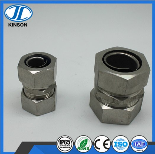 DGJ type stainless steel circlip self secured union