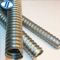 Electrical wiring system flexible galvanized steel conduit pipe