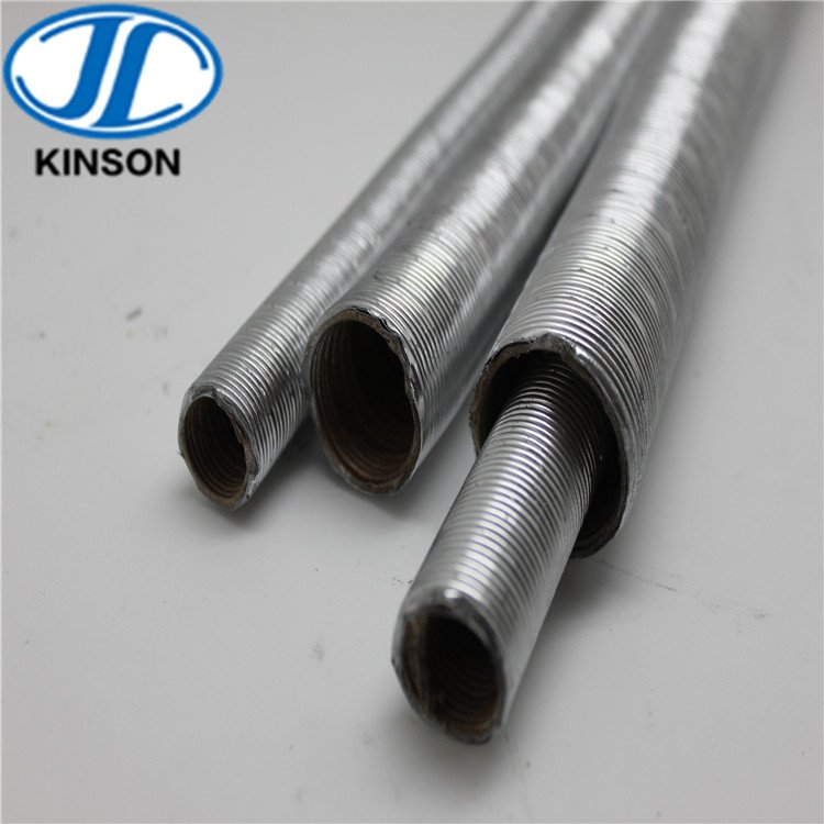 LA-1 aluminum steel type flexible Plica Tube